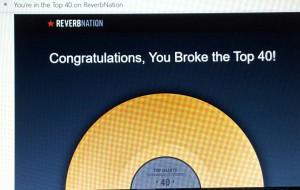 Reverbnation Top 40